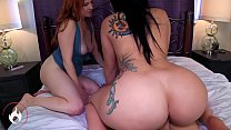 Mom and Sister's Big Juicy Asses -Mandy Muse an...