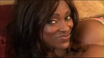 Stunning chocolate cutie Midori invites curious white dude to make the more intimate acquaintance of her holes