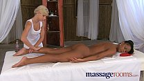 Massage Rooms Lesbian gspot tantric orgasm for black girl thumbnail