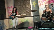 Hot Lesbo Girl Get A Hard Punishment From Mean Lez Clip-15