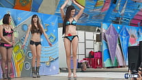 Taiwan outdoor stage pole dance