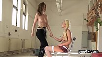 Ravishing honey gets her tight slit total of warm piss and blasts