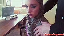 Arabic babe missionary fucked in pov