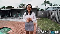 PropertySex Hot Agent With Great Ass Fucks Hand...