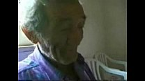 Slut young bitch jerking very old italian man. Real amateur