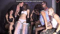 Wild student sex friends party on Friday 13th scene 3 - 9Club.Top