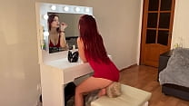 Just a Human Chair Slave For Ignorant Facesitting With Redhead Goddess Sofi