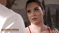 (Maddy OReilly) Release Her Tension By Riding Big Cock On a Massage Table - SweetSinner