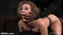 Atrocious doggystyle banging for hot slave whil...