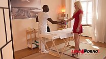 Blonde Slut Vittoria Dolce Ass Fucked Balls Deep By Massage Therapist GP050