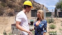 Crazy Squirting Action - Busty Milf Alexis Fawx...