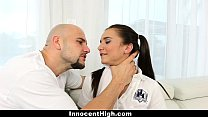 InnocentHigh - Pigtailed Brunette Fucked Hard Afterschool thumbnail