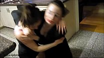 8670 Raging Real Estate Agents - Fighting Girls with Headscissors preview