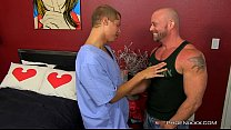 Heart Pounding Muscle on Twink Sex