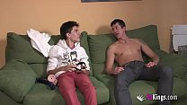 9814 We surprise Jordi by gettin him his first Arab girl! Skinny teen hijab preview