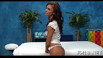 Beauty feels how huge cock enters her taut backdoor hole