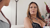 Rich Lady And The Mature Maid Were Friends at C...