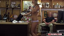Cutie babe Lisa getting her pink pussy fucked b…