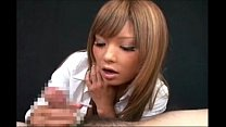 HJ from asian in a short skirt with long nails - xHamster.co thumbnail