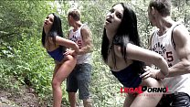 Lucia Denvile public pickup   3on1 Airtight Double Penetration