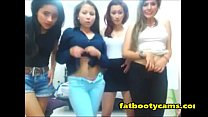 College Latina's having orgy sex party - fatbootycams.com thumbnail