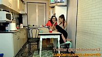 Masturbates While Her Friends In The Other Room and Goes Back In! MUST WATCH صورة