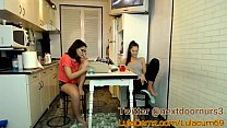 Masturbates While Her Friends In The Other Room and Goes Back In! MUST WATCH preview image