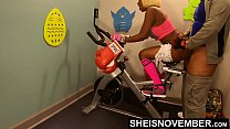 17676 4k Rough Painful Anal For Cute Black Spinner With Big Ass , Young Babe Msnovember Fucked By Old Coach Doggystyle In Public Gym Fucking Hard On Exercise Bike To Train Her Asshole HD Sheisnovember preview