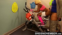 8242 4k Rough Painful Anal For Cute Black Spinner With Big Ass , Young Babe Msnovember Fucked By Old Coach Doggystyle In Public Gym Fucking Hard On Exercise Bike To Train Her Asshole HD Sheisnovember preview