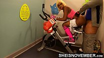 16072 4k Rough Painful Anal For Cute Black Spinner With Big Ass , Young Babe Msnovember Fucked By Old Coach Doggystyle In Public Gym Fucking Hard On Exercise Bike To Train Her Asshole HD Sheisnovember preview