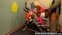 12629 4k Rough Painful Anal For Cute Black Spinner With Big Ass , Young Babe Msnovember Fucked By Old Coach Doggystyle In Public Gym Fucking Hard On Exercise Bike To Train Her Asshole HD Sheisnovember preview