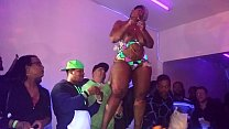 Cherokee D'ass Performs At QSL Halloween Strip Party in North Phila,Pa 10/31/15 thumbnail