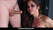 PunishTeens - Tiny Teen Turned Into a Well Trained Submissive Slut