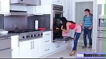Hardcore Sex Scene With Busty Housewife (Isis Love) clip-13