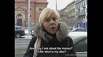 Czech Milf Gives a Head for a Horny Cock