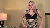 Busty Blonde Maggie Green Cums with Big Toy!'s Thumb