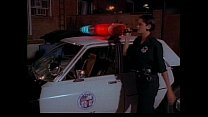 Sexy cop slu t with dirty feet moans & groans while being cocked by a hard fucker