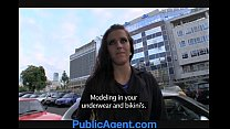 PublicAgent Morgan strips off and gets fucked my a fake model agent thumbnail