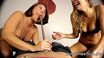 Chastity Humiliation by Two Hot Bitches porn thumbnail