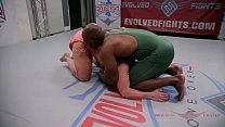 11885 The power of Alura Jenson wrestling Will Tile is impressive preview