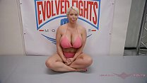 9288 The power of Alura Jenson wrestling Will Tile is impressive preview