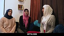 18749 BFFS - Shy Inexperienced Poonjab Girls Fuck In Their Hijabs preview