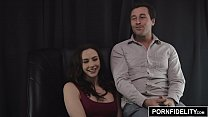 PORNFIDELITY Chanel Preston and James Deen Hardcore Living Room Fuck thumbnail