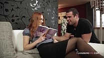 LaSublimeXXX Redhead model Denisa Heaven takes big cock in her tight pussy - 9Club.Top