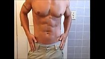 hot hunk solo shower