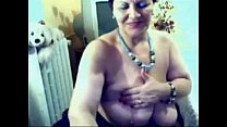 I hacked web cam of my mature mom porn image