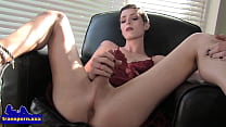 Cute smalltits tgirl stroking hard dong