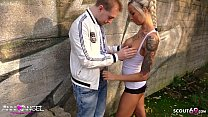 ▶▶ Virgin Boy get First Fuck Public by German Perfect Teen Anni Angel ◀◀