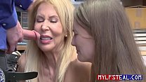 MILF Mom And Teen Daughter Fucks Cop After Getting Caught- Eric Lauren And Samantha Hayes