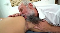 11602 Cayla Lyons and the pussy addict old guy, Albert preview